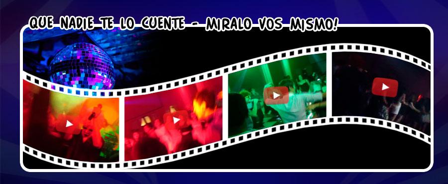 Videos de Doctor Pachanga - Banda de Covers para fiestas y eventos